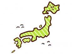 日本が島国というのも乾燥する理由の一つ