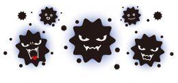 冬の乾燥でウイルスが活発になる!